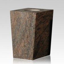 Tropical Green Modern Granite Vase