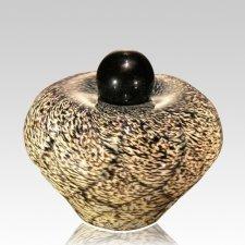 Moon Dance Glass Cremation Urn