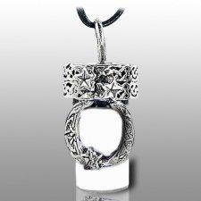 Moon Pet Cremation Necklace