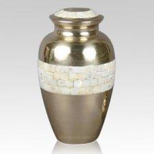 Perlmutt Cremation Urn