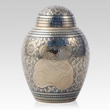 My Blue Teddy Childrens Cremation Urn