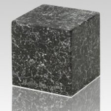 Nocturne Cube Keepsake Cremation Urn
