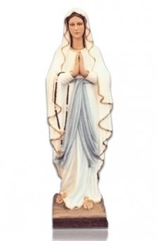 Our Lady of Lourdes in Prayer X Large Fiberglass Statues