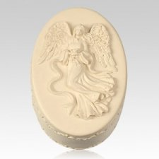 Oval Angel Keepsake Box