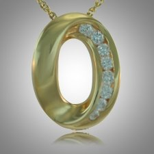 Oval Stone Keepsake Jewelry IV