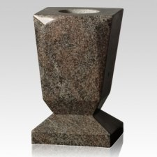 Paradiso Beveled Granite Vase