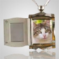 Pet Silver Picture Pendant