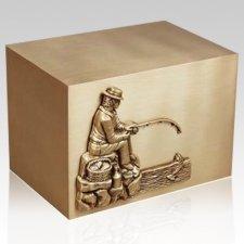 Pescadore Bronze Cremation Urn