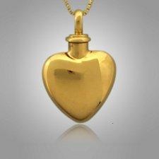 Pet Heart Cremation Pendant II