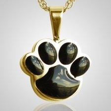 Pet Paw Black Cremation Keepsake II