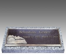 Companion Deep Bronze Grave Markers III