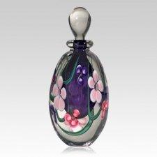 Pink Flower Hyacinth Keepsake Urn