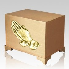 Praying Hands Paradise Children Urn