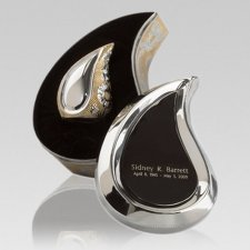 Preemie Teardrop Gold Cremation Urn