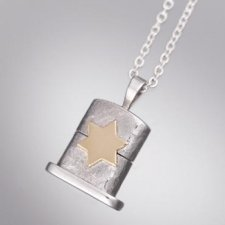 Star of David Cachet Keepsake Pendant