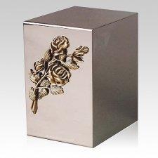 Pristino Bronze Rose Steel Urn