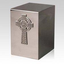 Pristino Viking Cross Steel Urn