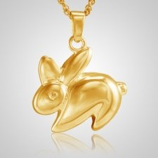 Rabbit Cremation Jewelry IV