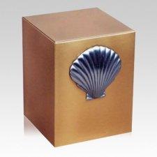 Reflection Shell Bronze Urn