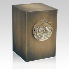 Relic Kingfish Bronze Urn