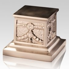 Roman Nickel Pet Urn