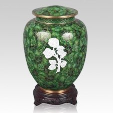 Rose Cloisonne Keepsake Cremation Urns