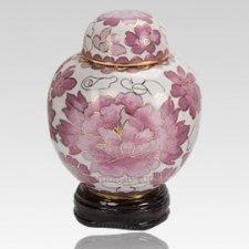 Rose Copper Keepsake Urn
