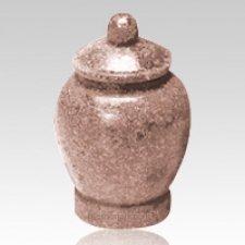 Rose Jar Cultured Granite Pet Cremation Urn