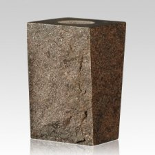 Oxford Gray Rustic Granite Vase