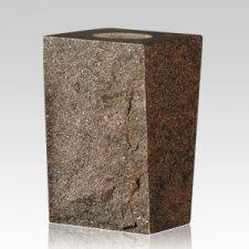 Redwood Rustic Granite Vase