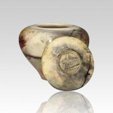 Tobias Ceramic Cremation Urn