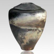 Saratoga Springs Raku Cremation Urn