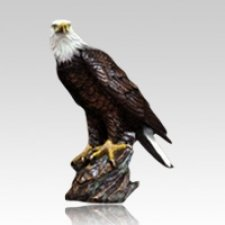 Perched Eagle Keepsake Cremation Urn