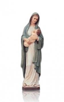 Saint Lady with Child Small Fiberglass Statues