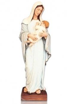 Saint Lady with Child X Large Fiberglass Statues