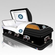 Seattle Mariners Casket