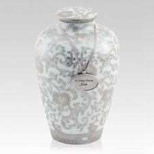 Shrine Porcelain Cremation Urn