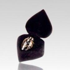 Silver Gold Keepsake Cremation Urn