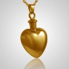 Large Heart Keepsake Pendant IV