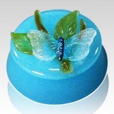 Spring Glass Keepsake Cremation Urn