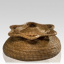 Star Basket Nature Cremation Urn