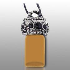 Stars Brown Pet Urn Necklace