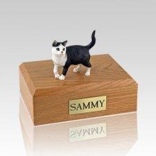 Tabby Standing Medium Cat Cremation Urn