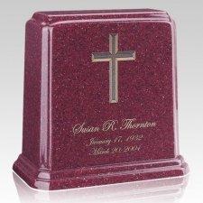 Tablet Raspberry Marble Urn