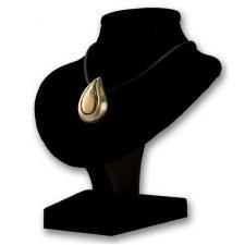 Teardrop Bronze Cremation Pendant