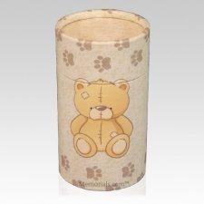 Teddy Bear Scattering Biodegradable Urn