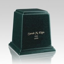 Temple Emerald Small Marble Urn