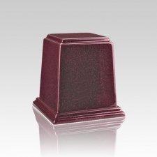 Temple Raspberry Mini Marble Urn