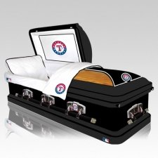 Texas Rangers Casket