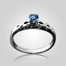 Tiara Solitaire Ring